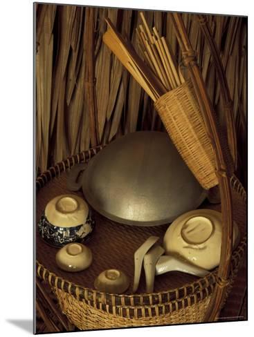 Traditional Food Basket, Vietnam-Keren Su-Mounted Photographic Print