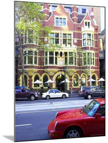 Collins Street, Melbourne, Victoria, Australia-David Wall-Mounted Photographic Print