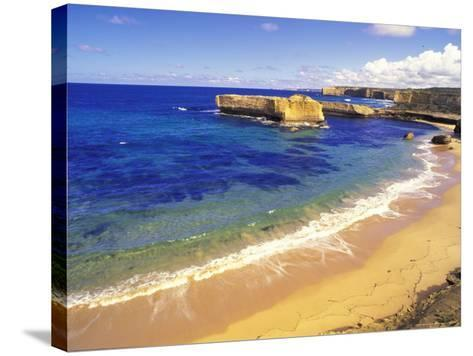 Beach at Sherbrook River, Victoria, Australia-Howie Garber-Stretched Canvas Print