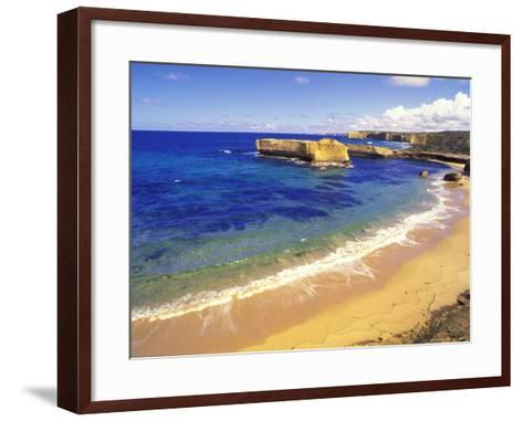 Beach at Sherbrook River, Victoria, Australia-Howie Garber-Framed Art Print