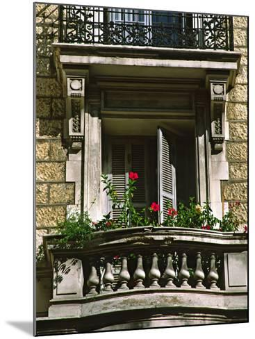 Balcony, Nice, France-Charles Sleicher-Mounted Photographic Print