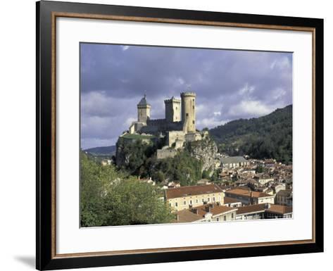 Chateau Comtal, Pyrenees, France-David Barnes-Framed Art Print