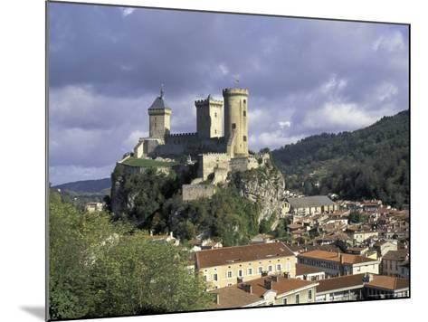 Chateau Comtal, Pyrenees, France-David Barnes-Mounted Photographic Print