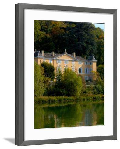 Home along the Saone River, France-Lisa S^ Engelbrecht-Framed Art Print