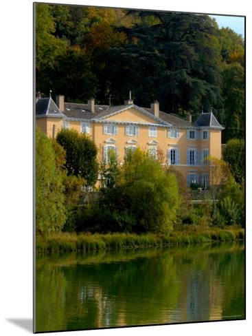 Home along the Saone River, France-Lisa S^ Engelbrecht-Mounted Photographic Print