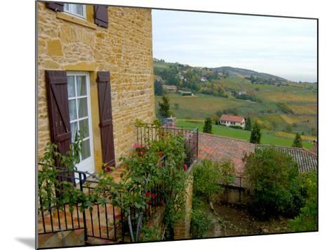 View of Countryside in Olingt, Burgundy, France-Lisa S^ Engelbrecht-Mounted Photographic Print