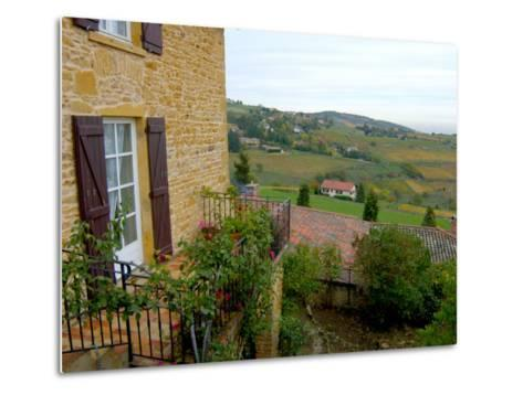 View of Countryside in Olingt, Burgundy, France-Lisa S^ Engelbrecht-Metal Print