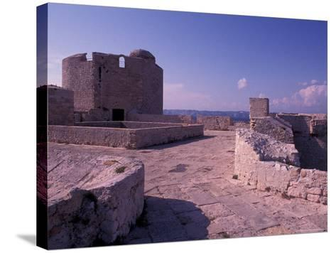 Chateau d'If, Marseille, France-Nik Wheeler-Stretched Canvas Print