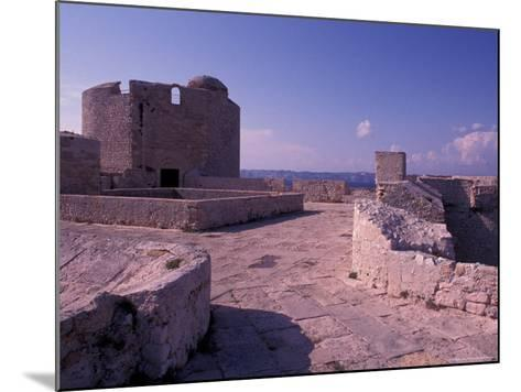 Chateau d'If, Marseille, France-Nik Wheeler-Mounted Photographic Print
