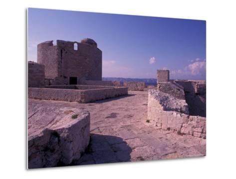 Chateau d'If, Marseille, France-Nik Wheeler-Metal Print