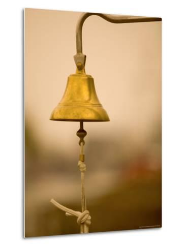Ship's Bell, Warnemunde, Germany-Russell Young-Metal Print