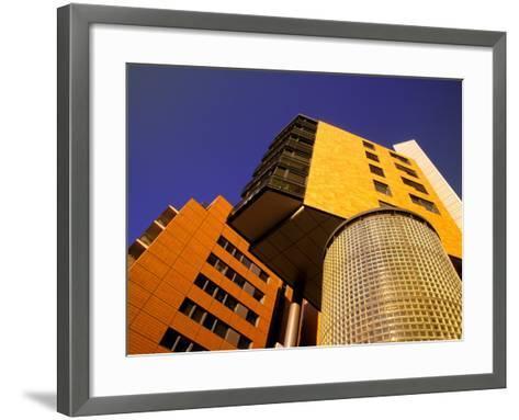 Daimler Chrysler Buildings, Potsdamer Platz, Berlin, Germany-Walter Bibikow-Framed Art Print