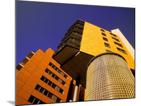 Daimler Chrysler Buildings, Potsdamer Platz, Berlin, Germany-Walter Bibikow-Mounted Photographic Print