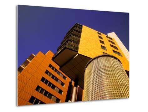 Daimler Chrysler Buildings, Potsdamer Platz, Berlin, Germany-Walter Bibikow-Metal Print