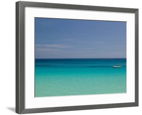 Town Marina, San Vito Lo Capo, Sicily, Italy-Walter Bibikow-Framed Art Print