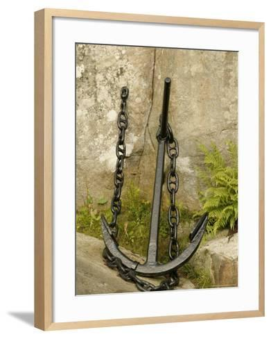 Anchor, Egersund, Norway-Russell Young-Framed Art Print