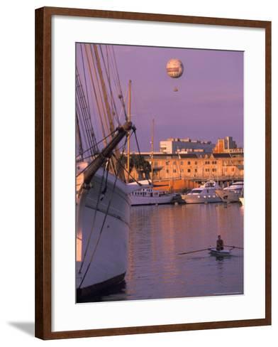 Port Vell Marina District, Barcelona, Spain-Michele Westmorland-Framed Art Print