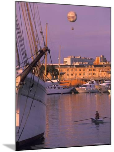 Port Vell Marina District, Barcelona, Spain-Michele Westmorland-Mounted Photographic Print