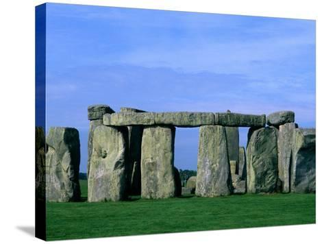 Abstract of Stones at Stonehenge, England-Bill Bachmann-Stretched Canvas Print