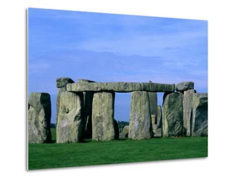 Abstract of Stones at Stonehenge, England-Bill Bachmann-Metal Print
