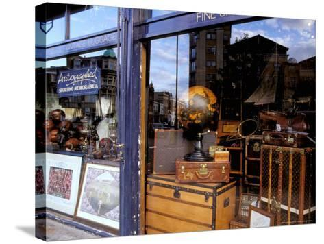 Sports Memorabilia Shop, Westbourne Grove, Notting Hill, London, England-Inger Hogstrom-Stretched Canvas Print