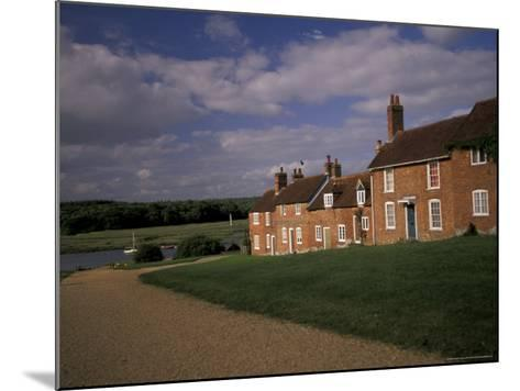 Cottages at Buckler's Hard, New Forest, Hampshire, England-Nik Wheeler-Mounted Photographic Print