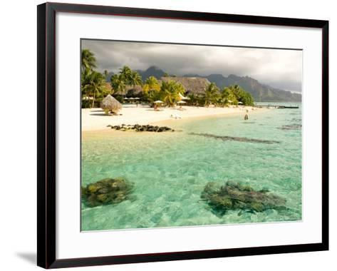 Sheraton Resort in Moorea, French Polynesia-Michele Westmorland-Framed Art Print