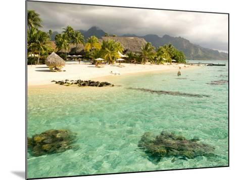 Sheraton Resort in Moorea, French Polynesia-Michele Westmorland-Mounted Photographic Print