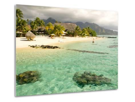 Sheraton Resort in Moorea, French Polynesia-Michele Westmorland-Metal Print