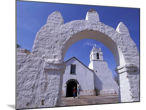 Adobe Walls of La Iglesia de San Pedro de Atacama, San Pedro de Atacama, Chile-Lin Alder-Mounted Photographic Print
