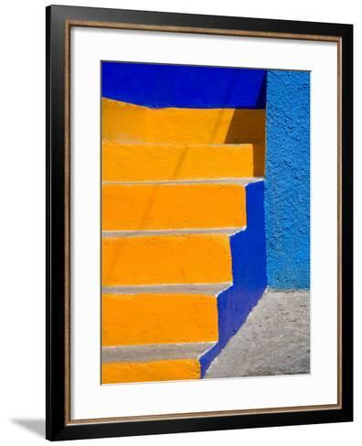 Colorful Stairs, Guanajuato, Mexico-Julie Eggers-Framed Art Print