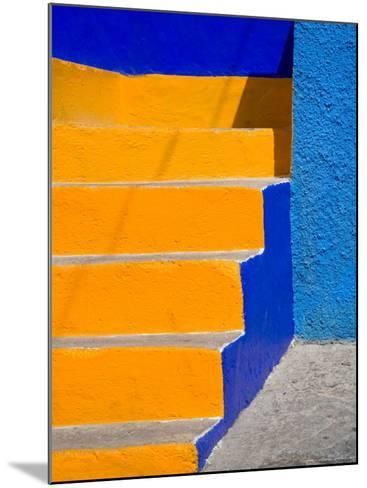 Colorful Stairs, Guanajuato, Mexico-Julie Eggers-Mounted Photographic Print