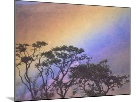 Rainbow over Rural Valley, Guacimal, Costa Rica-Michele Westmorland-Mounted Photographic Print