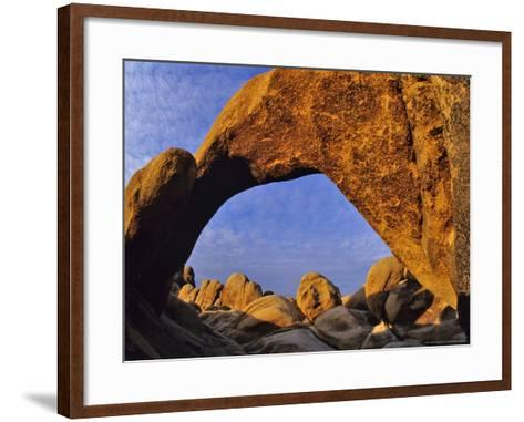 Arch Rock, Joshua Tree National Park, California, USA-Chuck Haney-Framed Art Print
