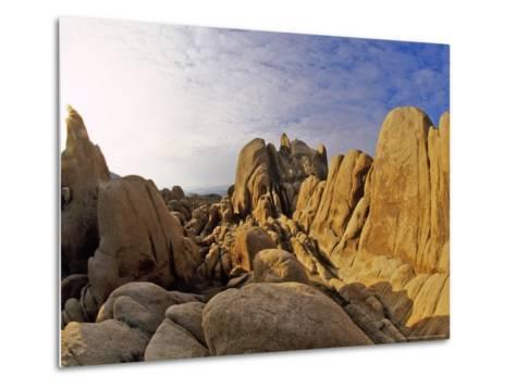Jumbled Rocks, Joshua Tree National Park, California, USA-Chuck Haney-Metal Print