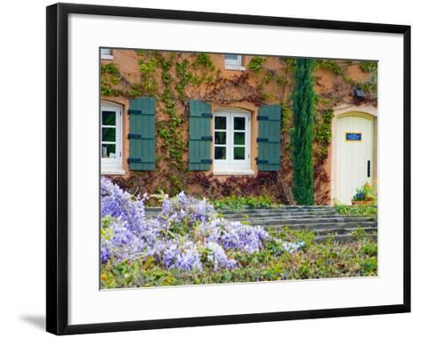 Viansa Winery, Sonoma Valley, California, USA-Julie Eggers-Framed Art Print
