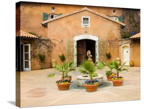 Viansa Winery, Sonoma Valley, California, USA-Julie Eggers-Stretched Canvas Print