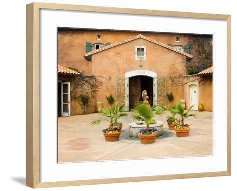 Viansa Winery, Sonoma Valley, California, USA-Julie Eggers-Framed Art Print