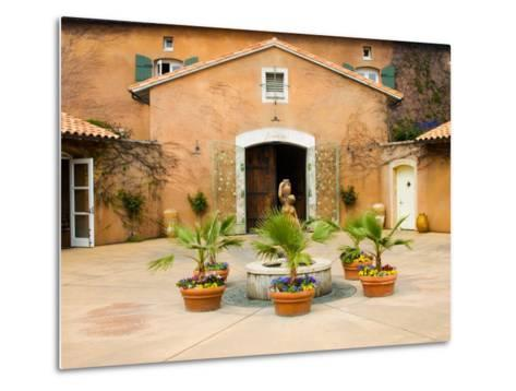 Viansa Winery, Sonoma Valley, California, USA-Julie Eggers-Metal Print