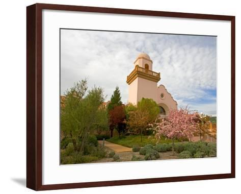 Groth Winery, Napa Valley, California, USA-Julie Eggers-Framed Art Print