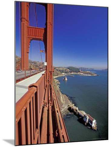 View North from Golden Gate Bridge, San Francisco, California, USA-William Sutton-Mounted Photographic Print
