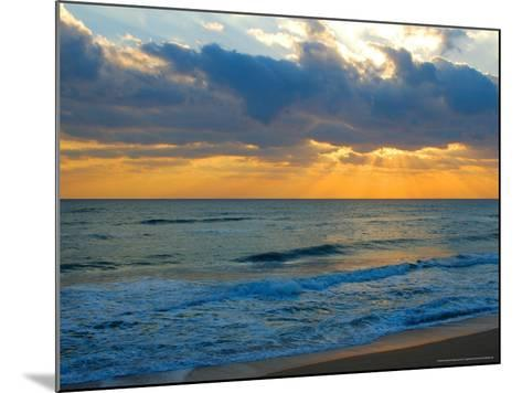 Sunrise, Silver Sands, Canaveral National Seashore, Florida-Lisa S^ Engelbrecht-Mounted Photographic Print
