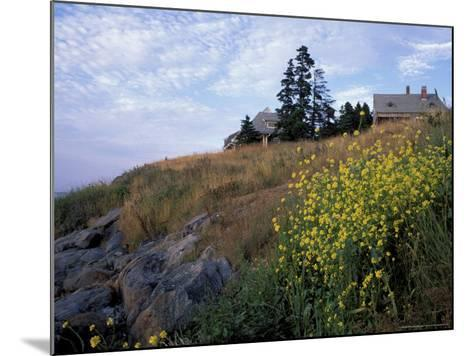 Houses, Maine, USA-Jerry & Marcy Monkman-Mounted Photographic Print