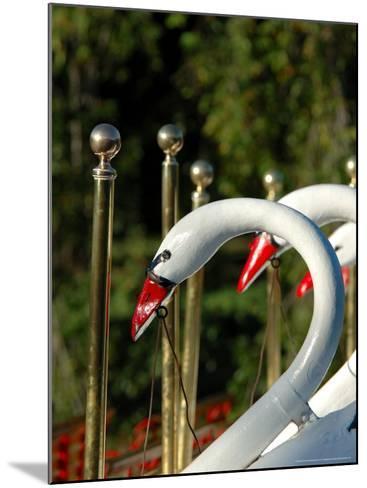 Swan Boats in Public Garden, Boston, Massachusetts-Lisa S^ Engelbrecht-Mounted Photographic Print