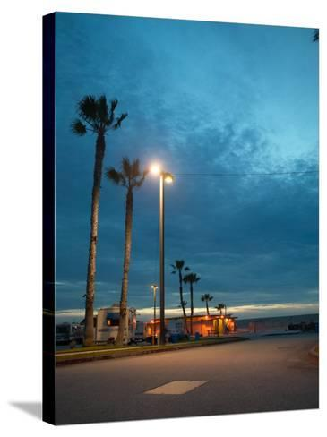 RV Park by the Ocean--Stretched Canvas Print
