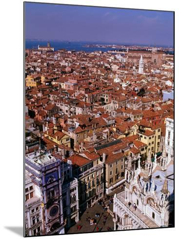 City Rooftops, Venice, Veneto, Italy-Christopher Groenhout-Mounted Photographic Print