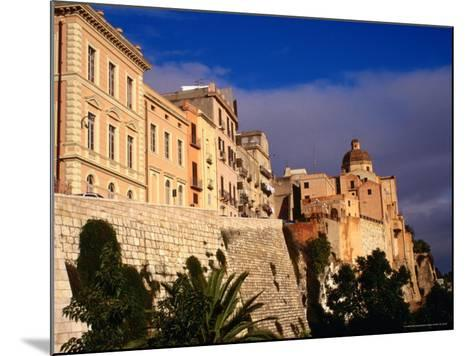 Cathedral from Bastione San Remy, Cagliari, Italy-Wayne Walton-Mounted Photographic Print