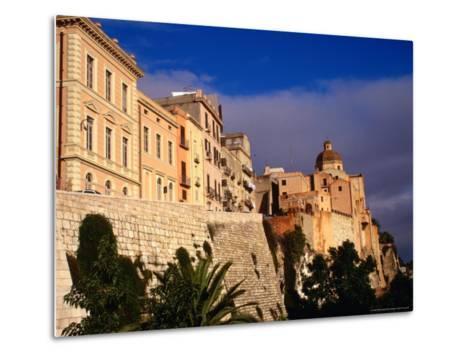 Cathedral from Bastione San Remy, Cagliari, Italy-Wayne Walton-Metal Print