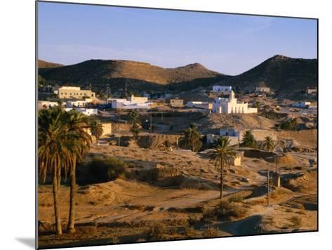 Troglodyte Dwellings Above Ground, Matmata, Tunisia-Peter Ptschelinzew-Mounted Photographic Print