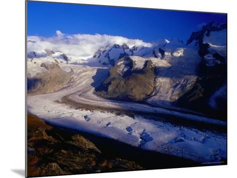 Gorner Glacier and Monte Rosa Massif, Valais, Switzerland-Gareth McCormack-Mounted Photographic Print
